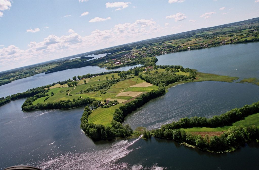 Kaszuby - polodowcowe jeziora, fot. Starostwo Powiatowe w Kartuzach
