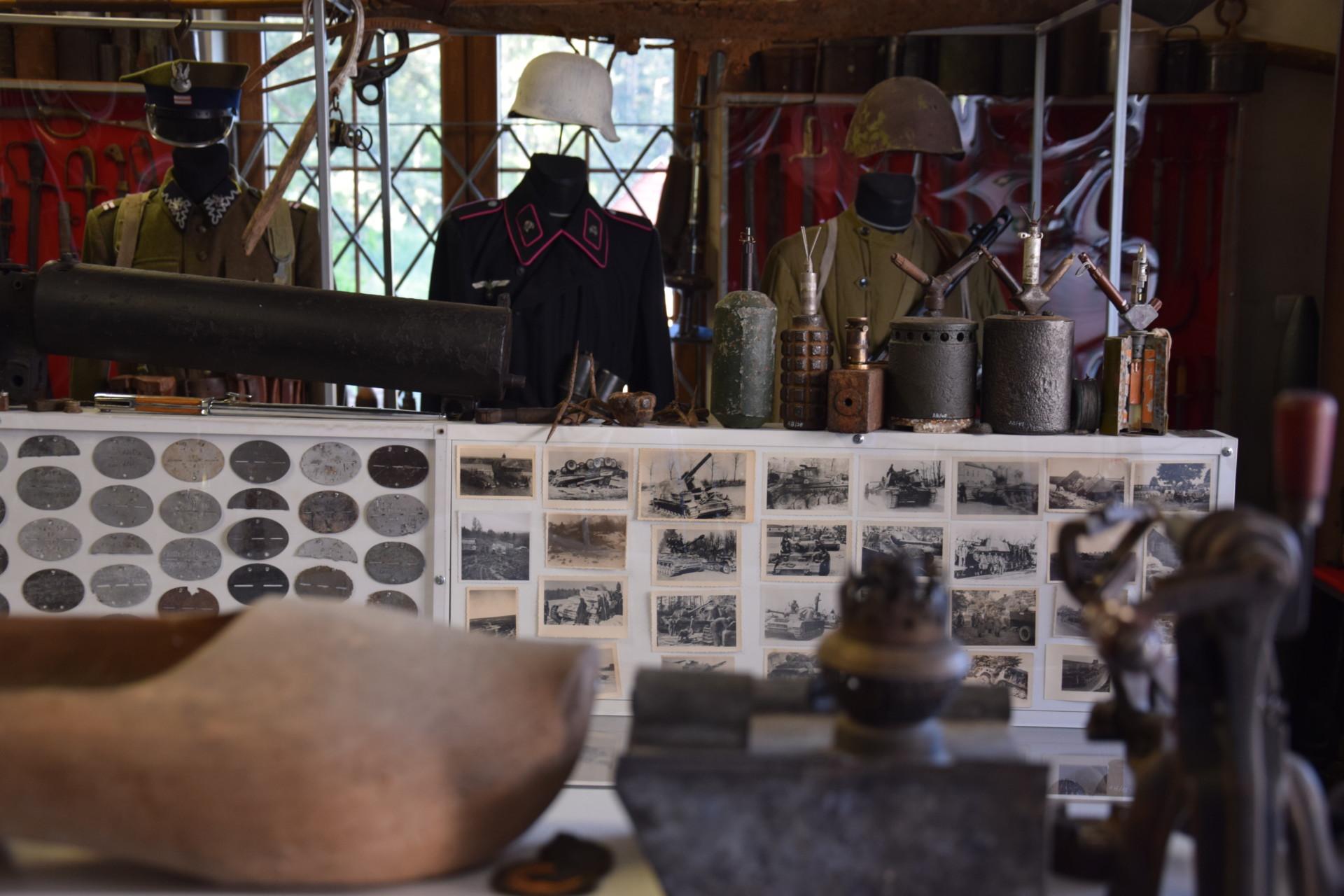 Muzeum nieoczywiste w Goręczynie. Zawsze chciałem mieć armatę 19