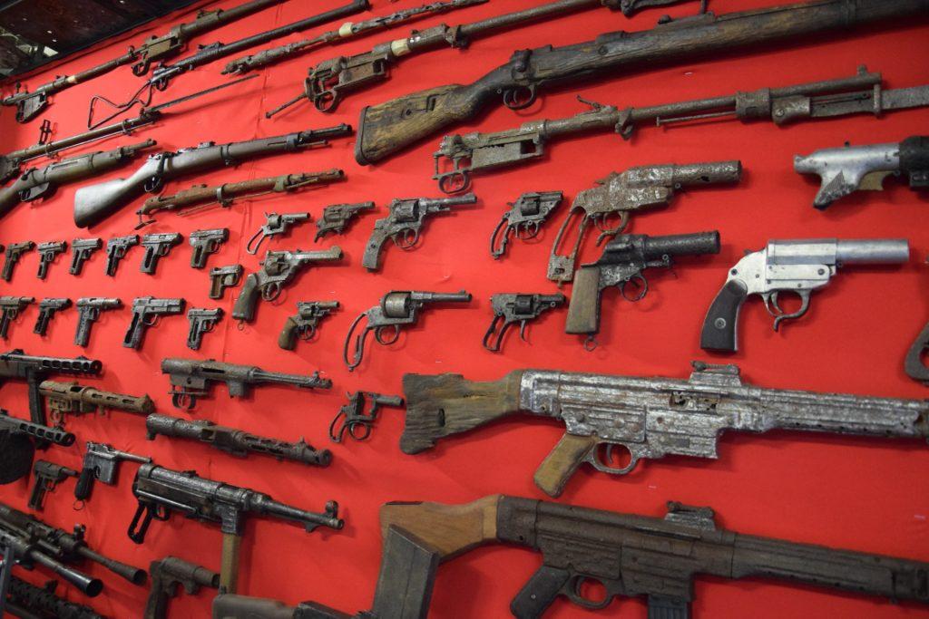 Muzeum nieoczywiste w Goręczynie. Zawsze chciałem mieć armatę 11