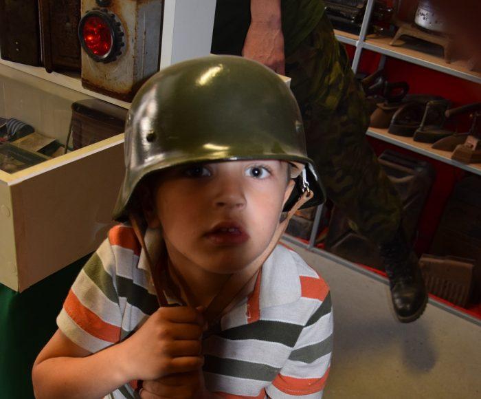 Muzeum nieoczywiste w Goręczynie. Zawsze chciałem mieć armatę
