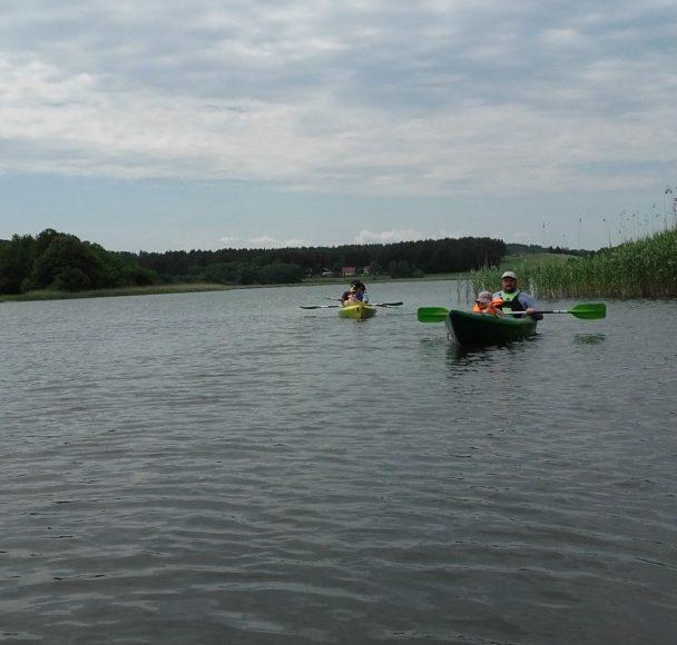 Ostrzyce. Spływy kajakowe rzeką Radunią