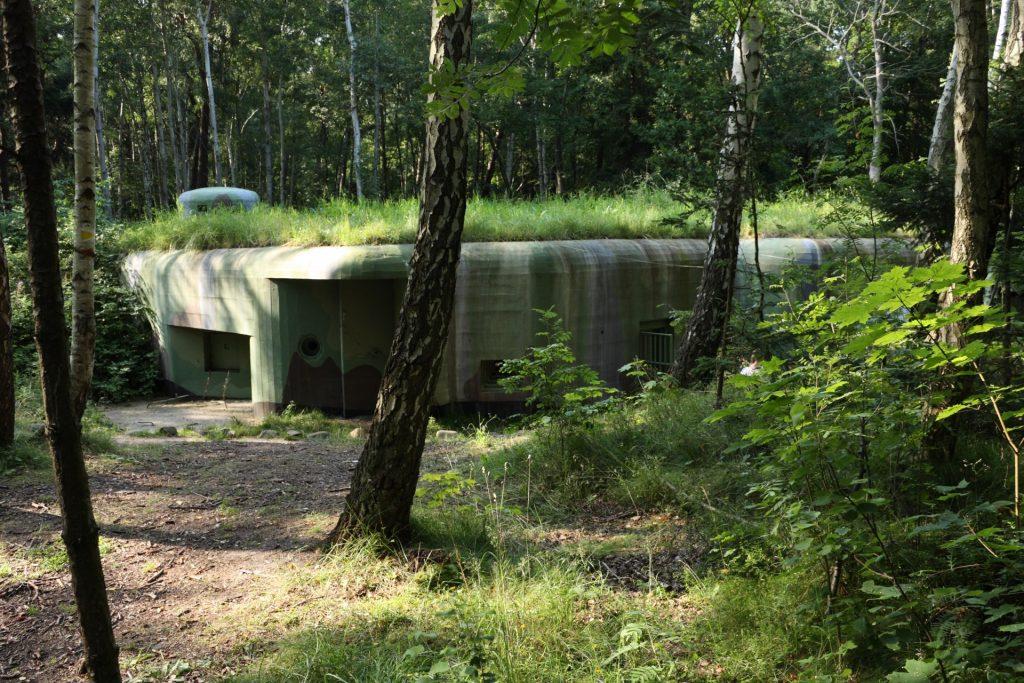 "Fot.: Jastarnia, Skansen fortyfikacji, schron ""Sabała"", źródło: Wikipedia, autor: MattiPaavol"