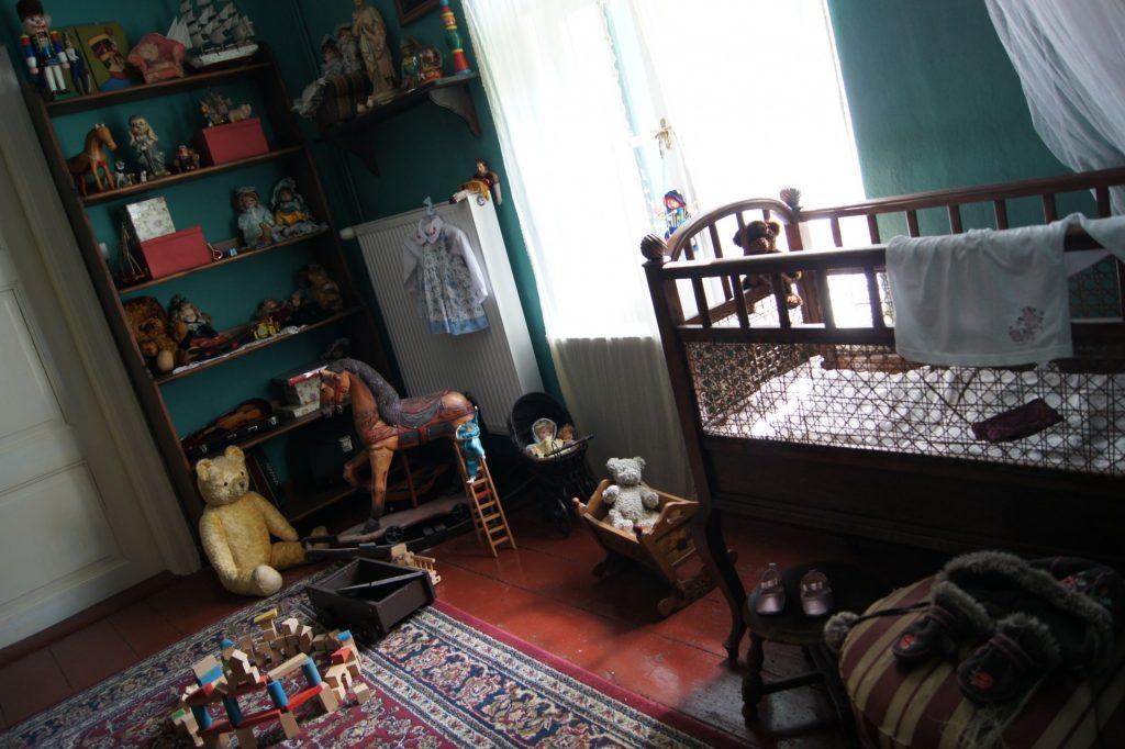 Dwór Wybickich w Sikorzynie - wystawa muzealna Fot. P. Momot