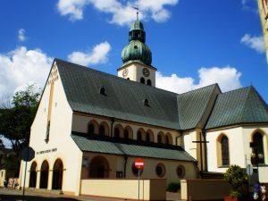 Człuchów, kościół pw św Jakuba, źródło: wikipedia.org.pl