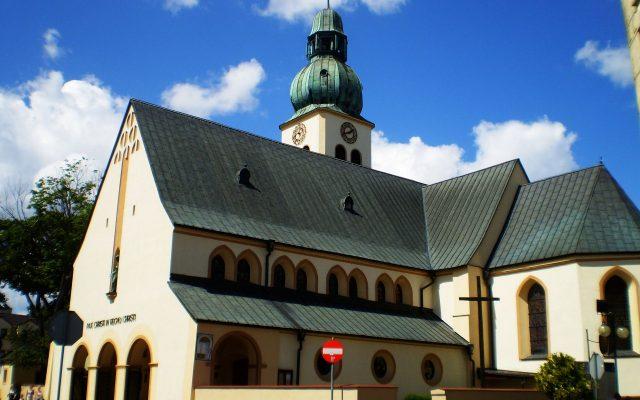 Człuchów. Kościół pod wezwaniem świętego Jakuba