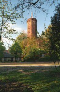 Wieża Zamku w Człuchowie, źródło: wikipedia.org