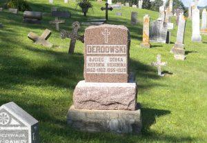 Grób Jana Hieronima Derdowskiego w Winonie