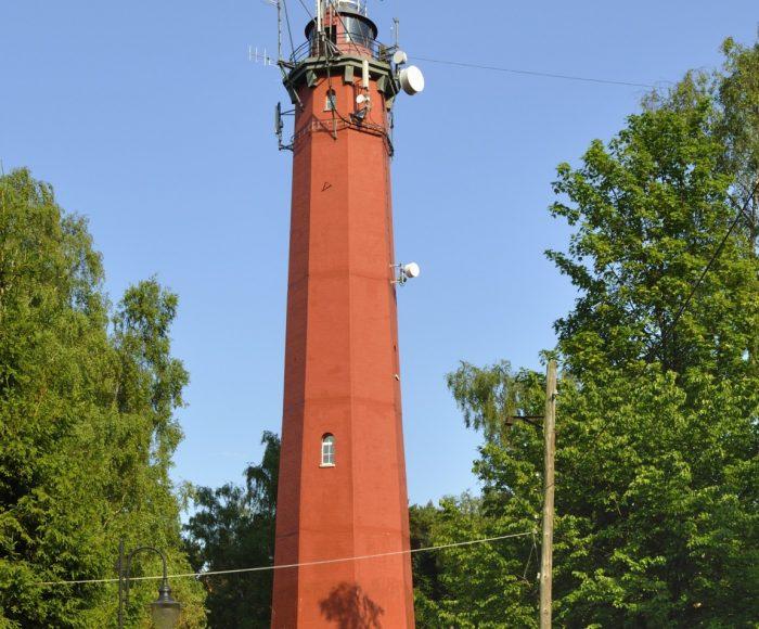 Hel, Latarnia Morska. Wieża na końcu Półwyspu Helskiego