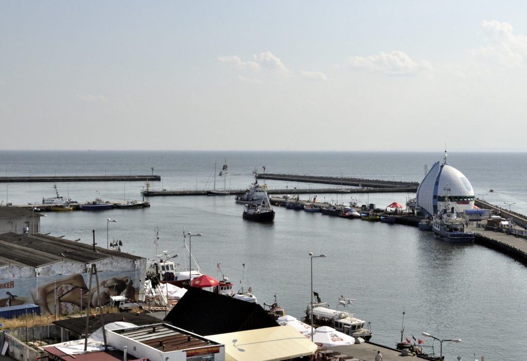 Fot.: Hel, Port Morski, źródło: Wikipedia, autor: DerHexer