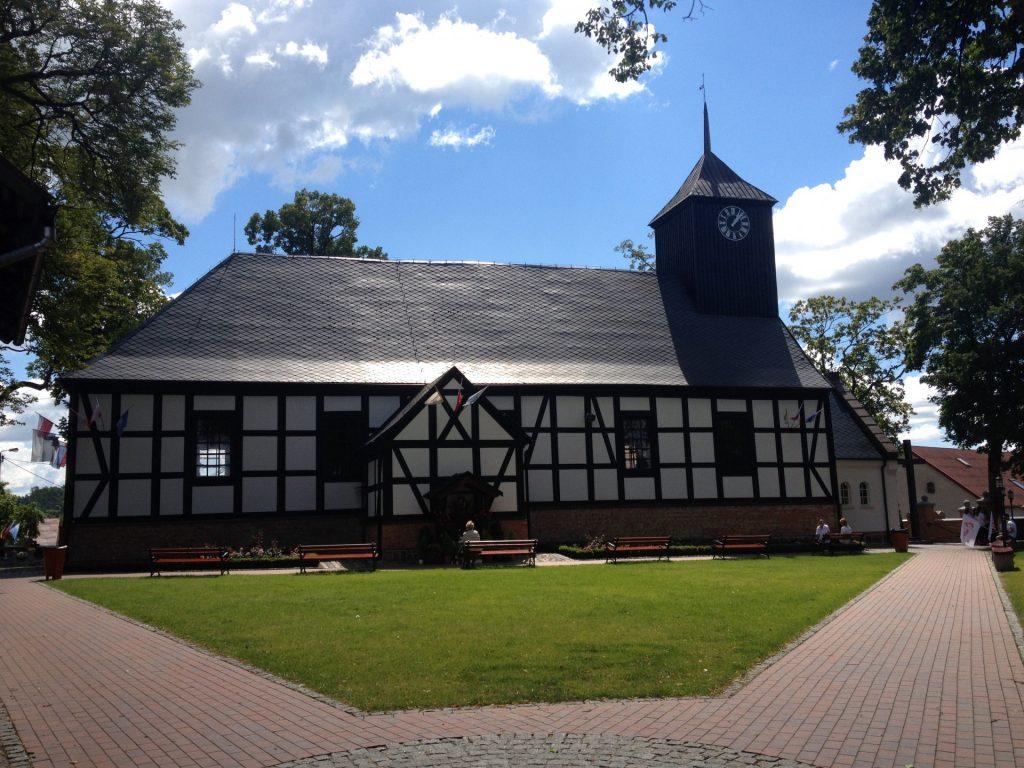 Sianowo. Sanktuarium matki Boskiej Sianowskiej Fot. Lucyna Szomburg