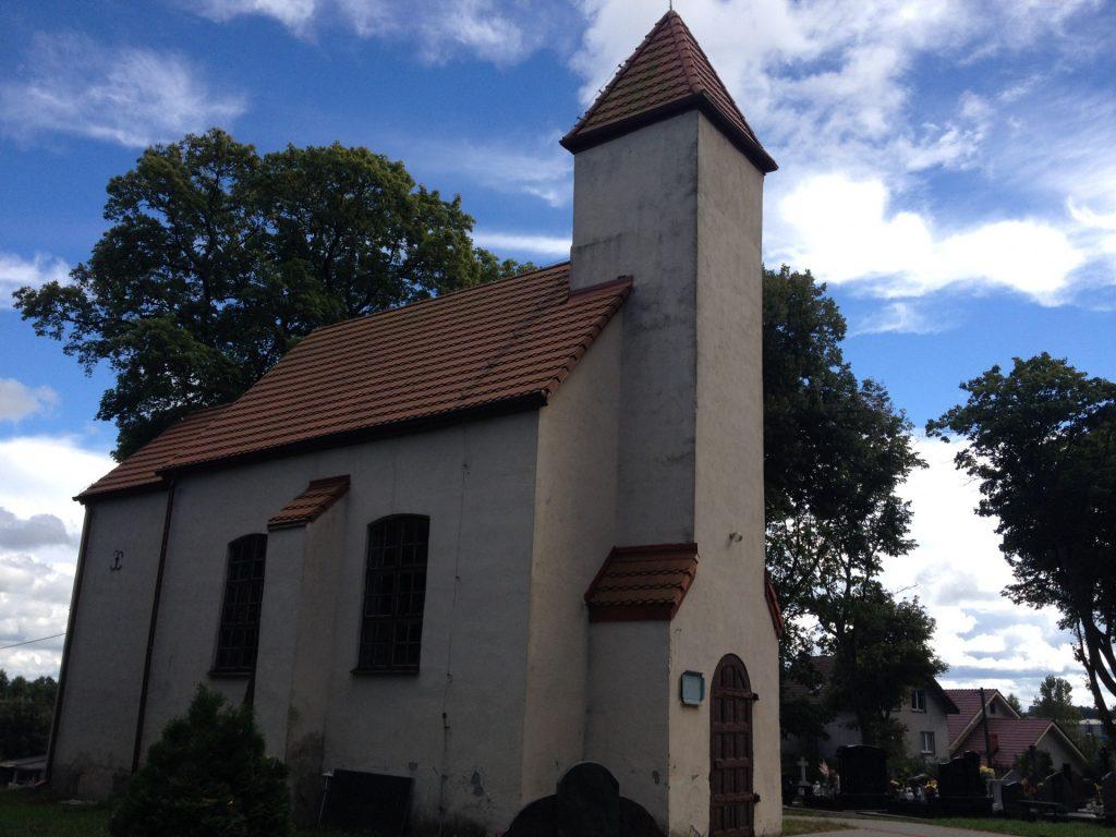 Żukowo. Kaplica św. Jana Nepomucena Autor: Lucyna Szomburg