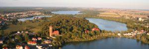 Człuchów, jeziora, źródło: www.czluchow.eu