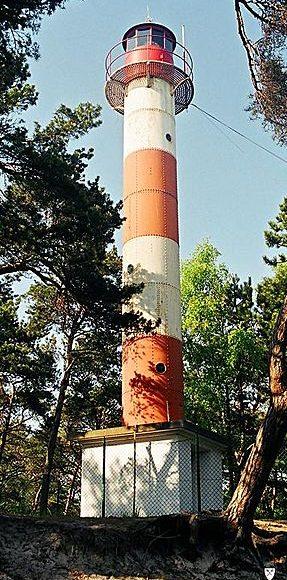 Jastarnia. Najniższa latarnia morska na polskim wybrzeżu 1