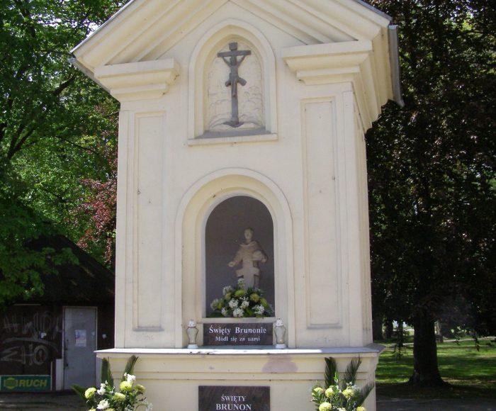 Kartuzy. Kapliczka św. Brunona, patrona Kartuz