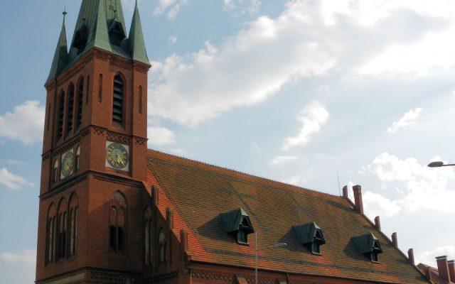 Kościerzyna. Kościół pw. Zmartwychwstania Pańskiego 1