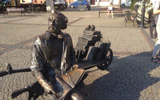 Kościerzyna. Pomnik Remusa, bohatera kaszubskiej epopei