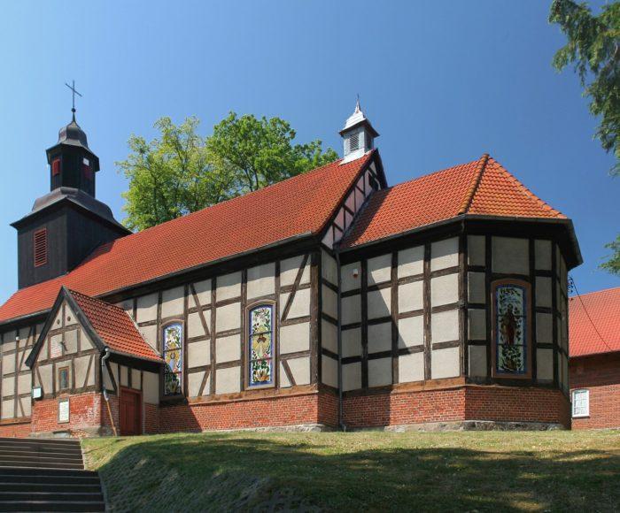 Mechowo, Kościół parafialny pod wezwaniem świętych Jakuba i Mikołaja