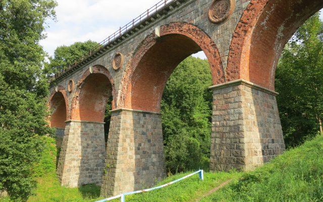 Bytów. Most kolejowy z XIX wieku