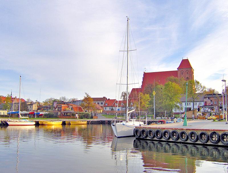 Fot.: Puck, Port jachtowy i rybacki, źródło: Wikipedia, autor: Krzysztof