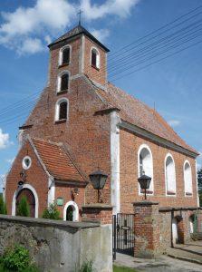 Stare Polaszki. Kościół pw. św. Mikołaja Źródło: Wikipedia Autor: AsalmZNC