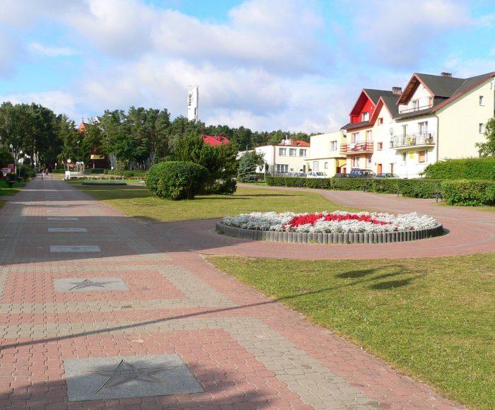 Władysławowo, Cetniewo. Aleja gwiazd sportu. Historia polskiego sportu