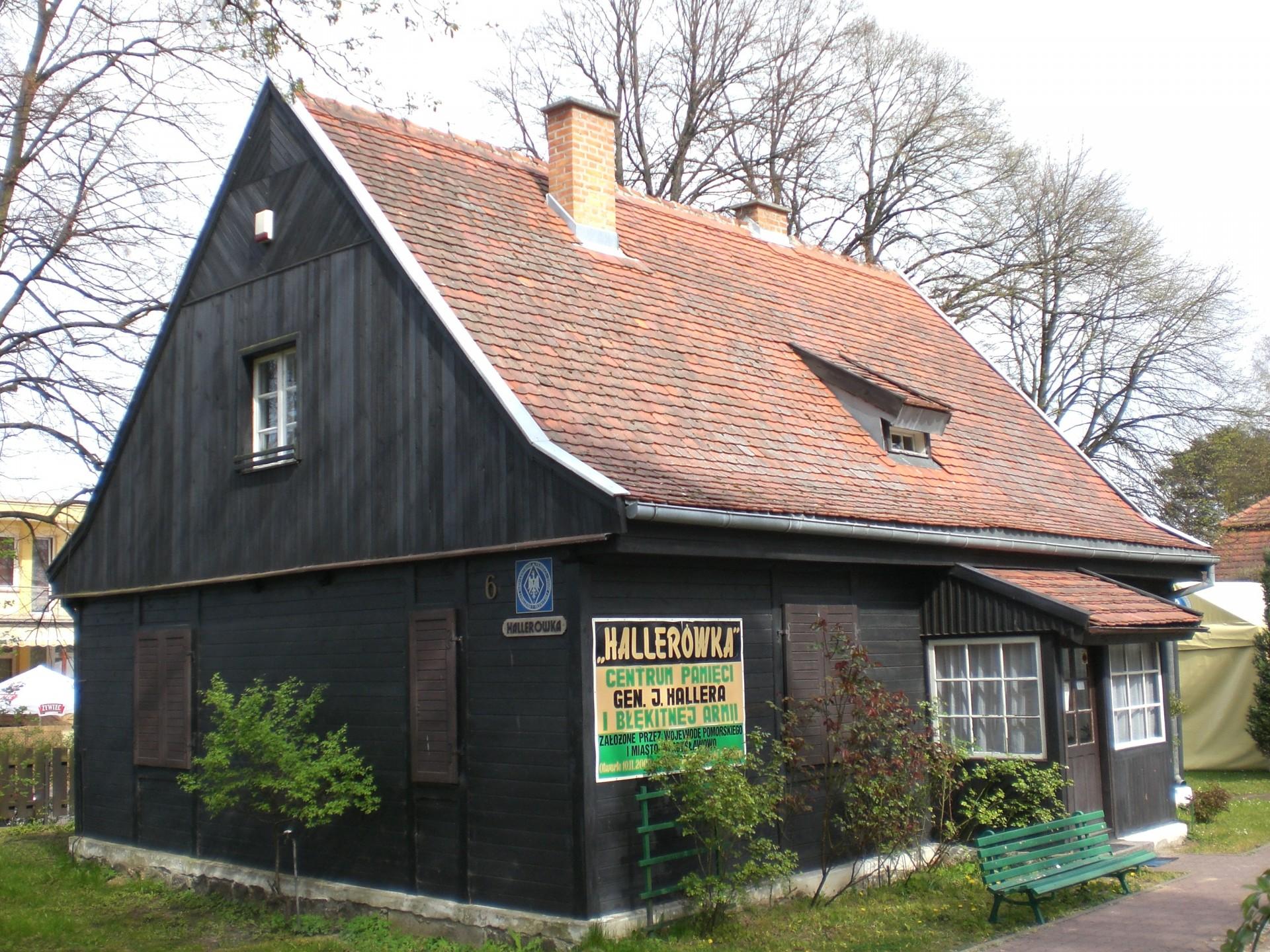 """Fot.: Władysławowo, """"Hallerówka"""", źródło: Wikipedia, autor: Alfisti gd"""