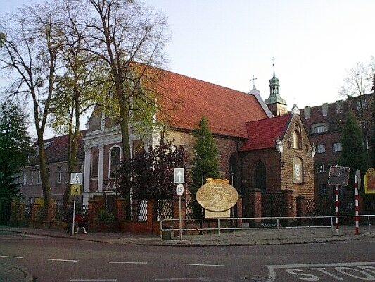 Wejherowo, Klasztor i Kościół ojców franciszkanów. Grobowiec założyciela Wejherowa