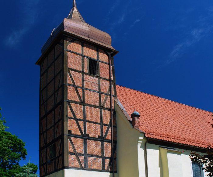 Żukowo. Kościół pw. św. Jana Chrzciciela, pierwsze miejsce chrztu okolicznych pogan
