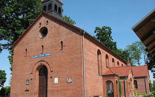 Parchowo. Pałac z XIX wieku i neoromański kościółek
