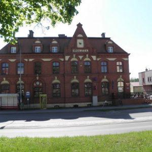 Człuchów, budynek poczty, źródło: http://www.czluchow.eu/