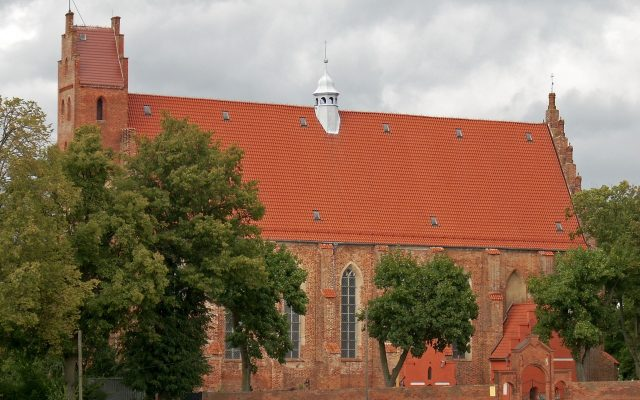 Żarnowiec, Kościół Zwiastowania Pana. Świątynia Cystersów z XIII wieku