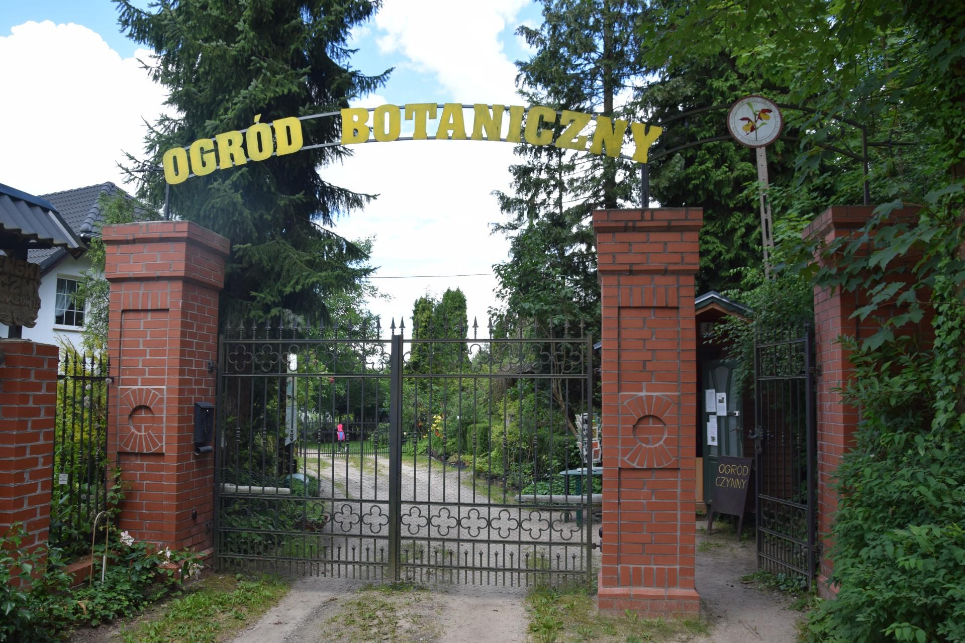 Gołubie. Ogród Botaniczny, rośliny ozdobne, lecznicze, arboretum 9
