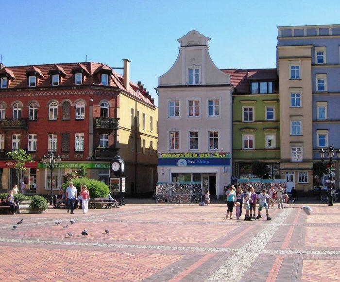 Rynek w Chojnicach. Malowniczy rynek 2