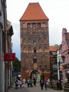 Chojnice, Brama Człuchowska, źródło: wikipedia.org