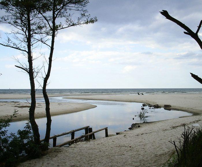 Żarnowiec – Dębki, Szlak kajakowy do morza rzeką Piaśnicą. Atrakcja wodna dla całej rodziny