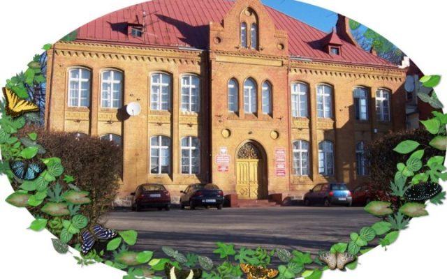 Człuchów. Budynek  szkoły specjalnej dla dzieci głuchoniemych z 1882 roku