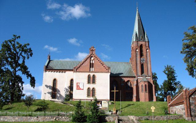 Główczyce. Kościół pw. św. Piotra i Pawła, XIX – wieczna świątynia