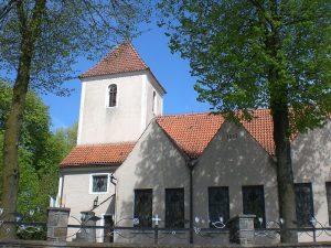 Grabowo Kościerskie. Kościół św. Anny Źródło: Wikimedia.org Autor: Gdaniec