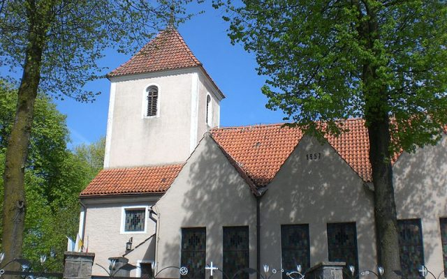 Grabowo Kościerskie, kościół pw. św. Anny. Barokowa świątynia ufundowana przez kartuzów