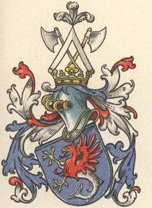 Herb rodu Puttkamerów Źródło: Wikimedia.org Autor zdjęcia: Max von Spießen