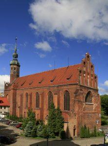 Kościół św. Jacka w Słupsku Źródło: Wikipedia.org Autor: Michał Słupczewski - Praca własna www.slupsk.pl