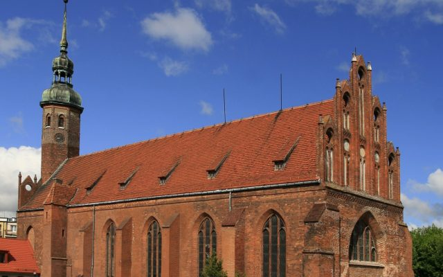 Słupsk. Podominikański kościół św. Jacka z zabytkowymi, barokowymi organami
