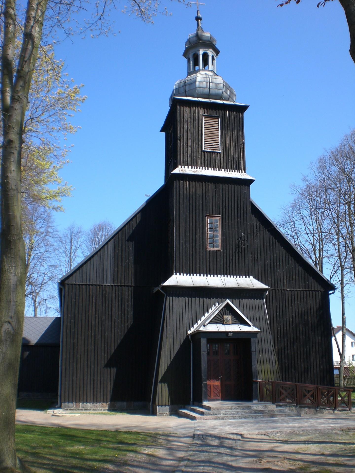 Kościół w Pomieczynie Źródło: Wikipedia.org Autor: Alfisti gd