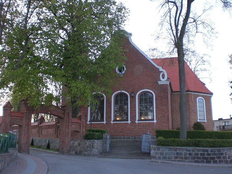 Kościół w Goręczynie Źródło: Wikimedia.org Autor: Gdaniec