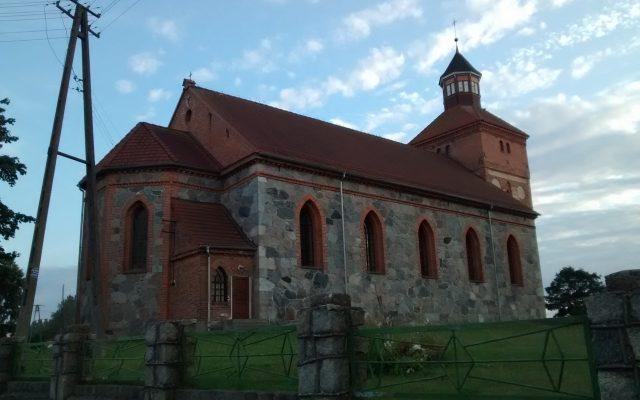Kwakowo. Kościół pw. Niepokalanego Poczęcia Najświętszej Marii Panny. Kamienna świątynia