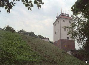 Fot.: Lębork, Wieża ciśnień, źródło: Wikimedia, autor: Topory