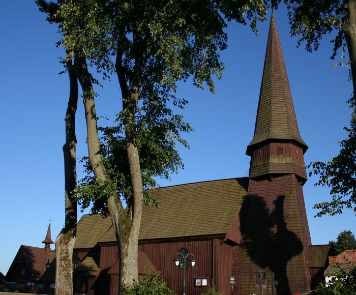 Leśno. Drewniany kościół z XVI wieku 1
