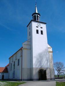 Fot.: Luzino, Kościół, źródło: Wikipedia, autor: MKM