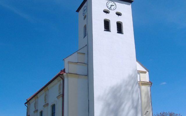 Luzino, Kościół pod wezwaniem św. Wawrzyńca