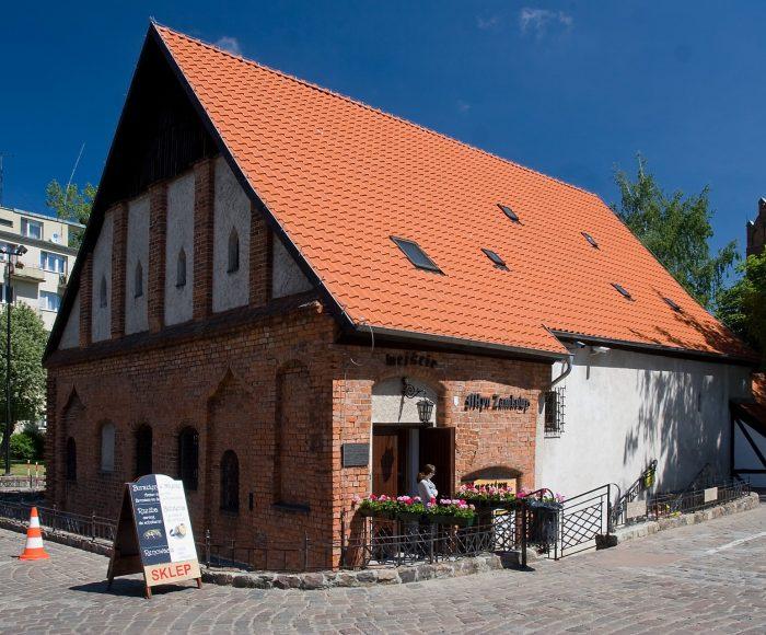 Słupsk. Młyn Zamkowy, jeden z najstarszych zachowanych obiektów przemysłowych w Polsce